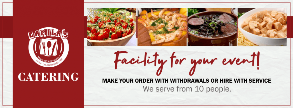 Banner Catering | Make your order with withdrawals or hire with service